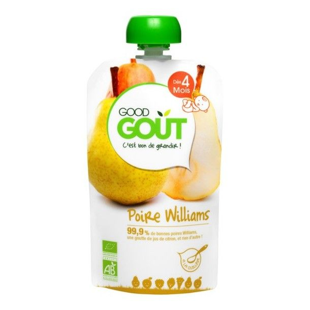 Gourde de fruits - Poire Williams