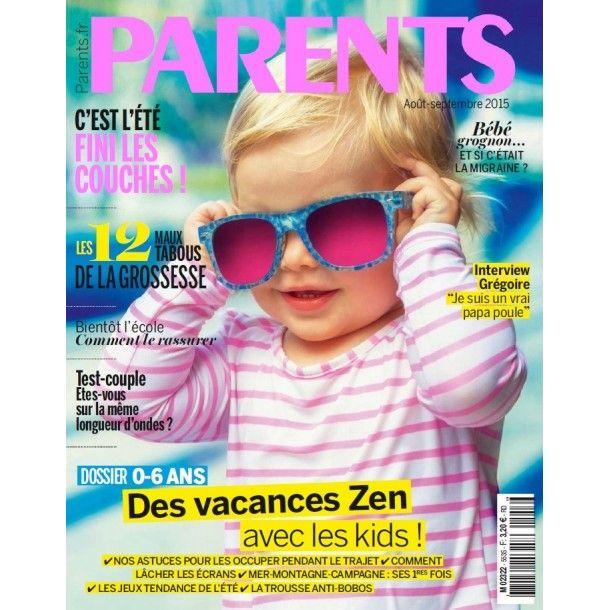 Magazine Parents - Juillet 15