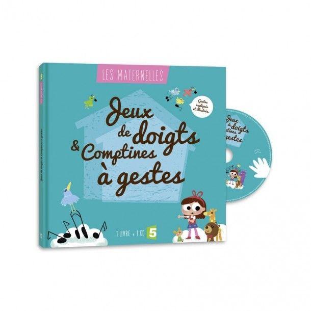 Livre + CD Jeux de doigts & comptines à gestes