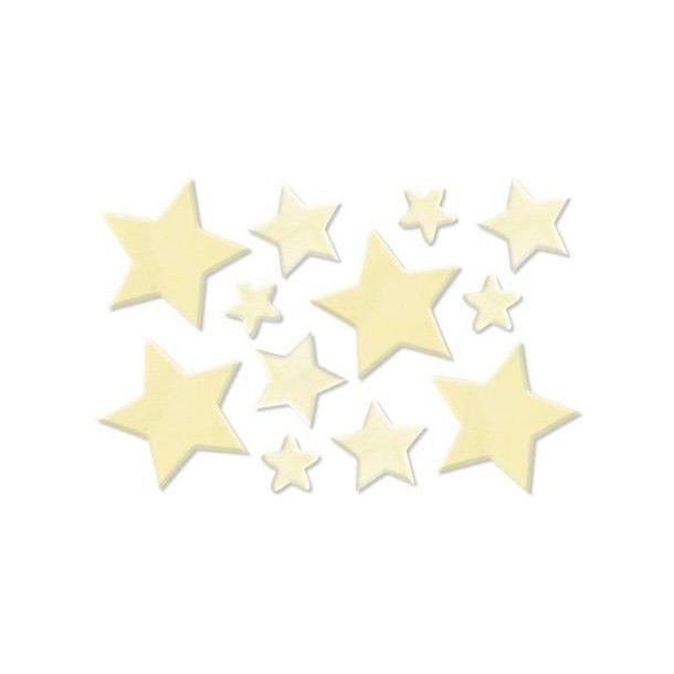 12 étoiles en bois