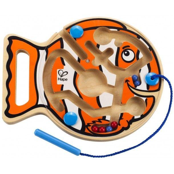 Labyrinthe poisson magnétique