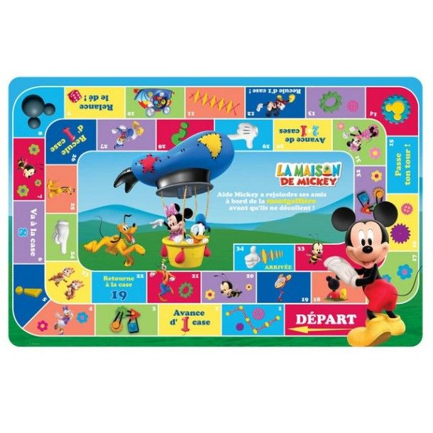 Set de table Mickey