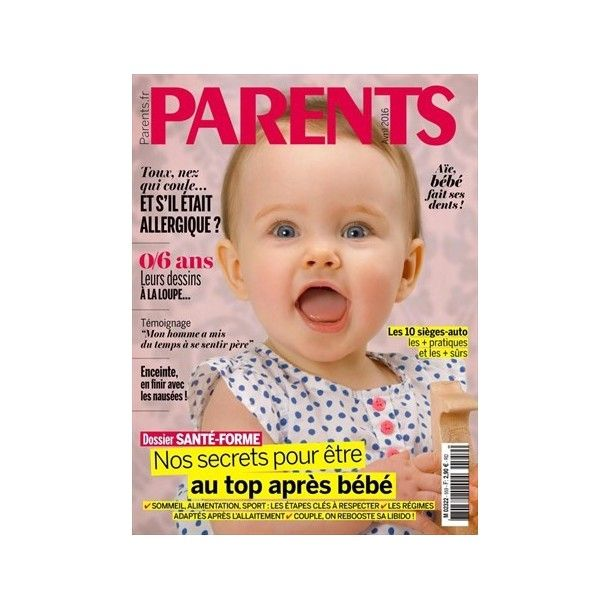 Magazine Parents - AVril 2016