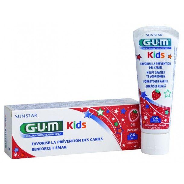 Gel dentifrice 2-6 ans Kid