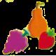Kit pâte à sel fruits