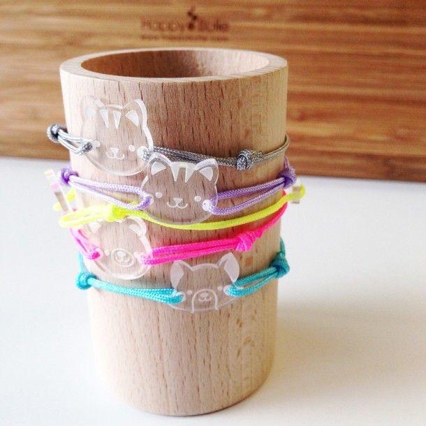 Bracelet acrylique