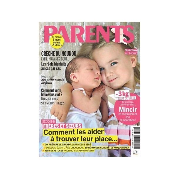Magazine Parents - JUIN 2016
