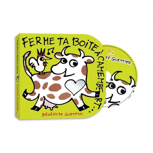 Livre/CD Ferme ta boîte à camembert