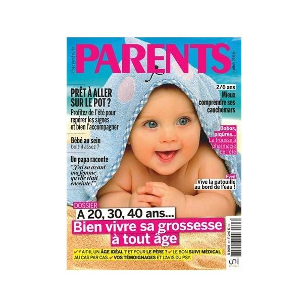 Magazine Parents - JUILLET 2016