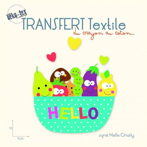 Transfert pour textile fruit
