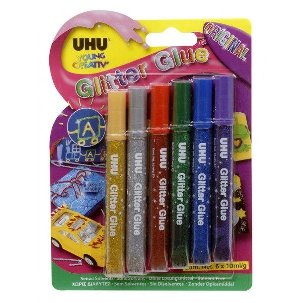 Colle UHU Glitter Glue