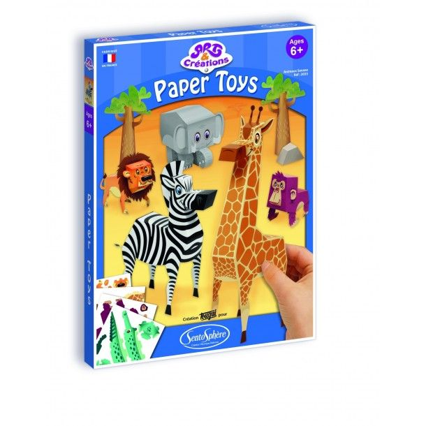 Paper Toys Jungle