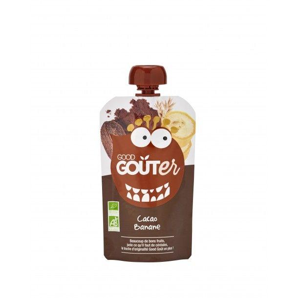 Good Goûter Cacao Banane