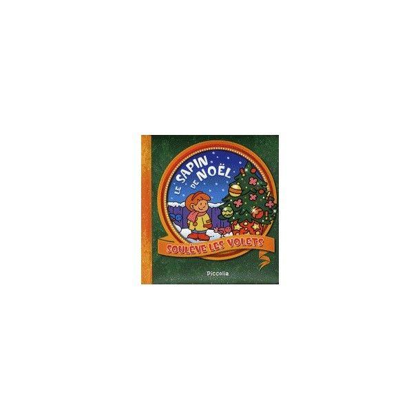 Livre soulève les volets - Le sapin de Noël