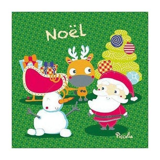 Livre tissu Noël