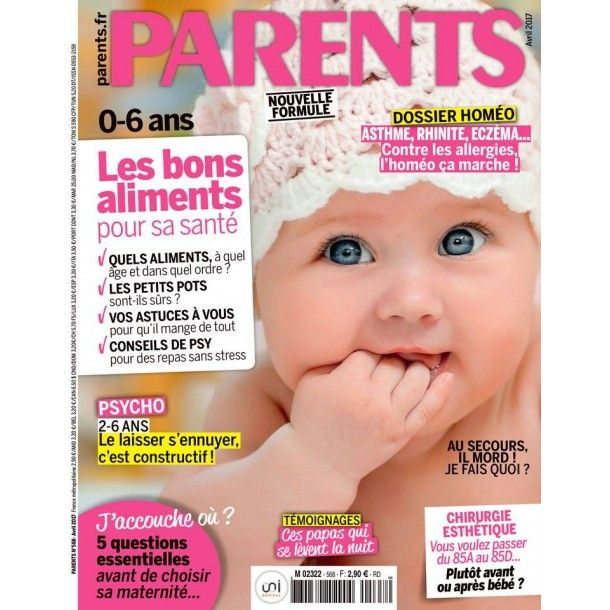 Magazine Parents - Mars 2017