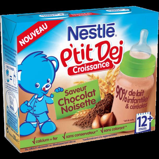 NESTLE P'tit Dej saveur chocolat noisette