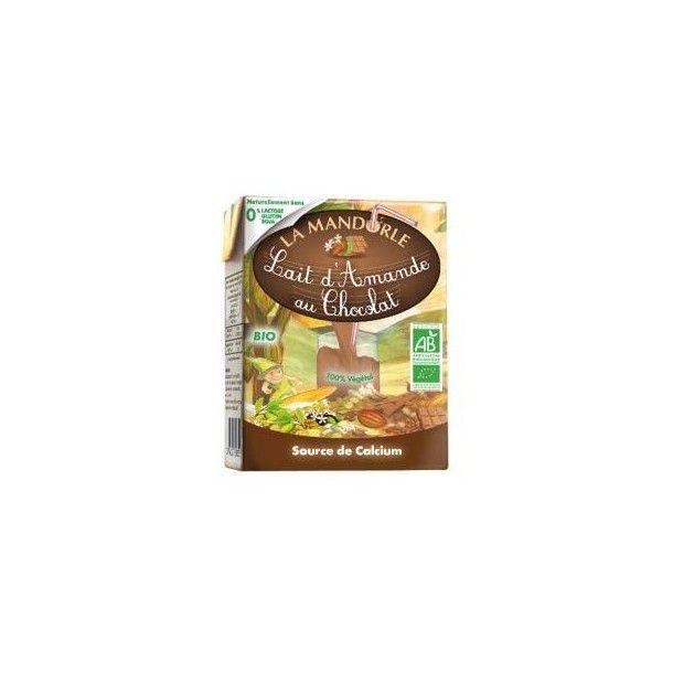 Briquette Lait d'amande chocolat