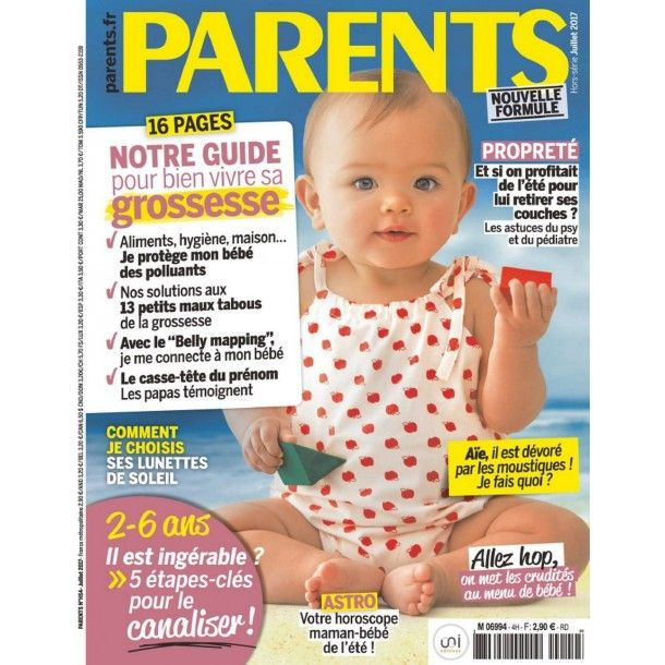 Magazine Parents - Juin 2017