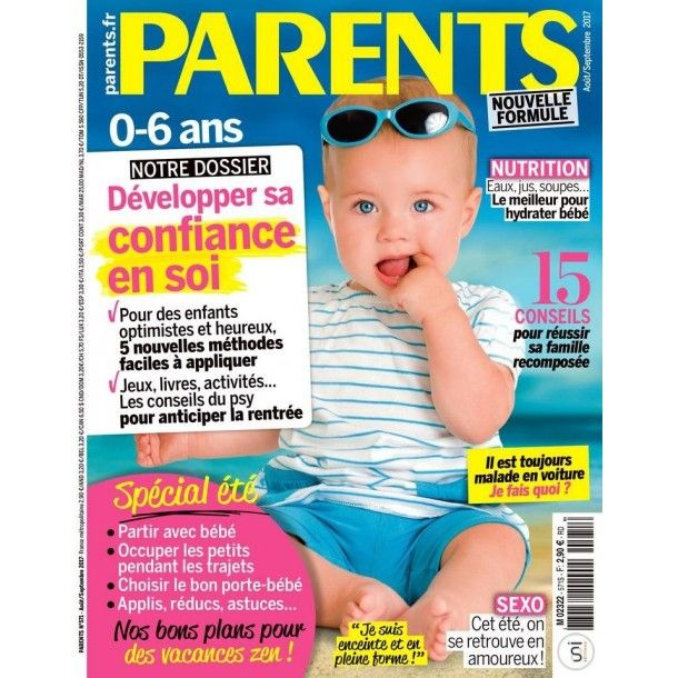 Magazine Parents - Juillet 2017