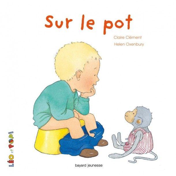 Livre Léo et Popi sur le pot