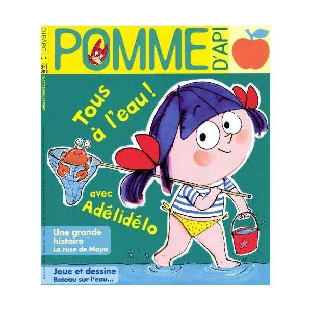Magazine Pomme d'api - Août 17
