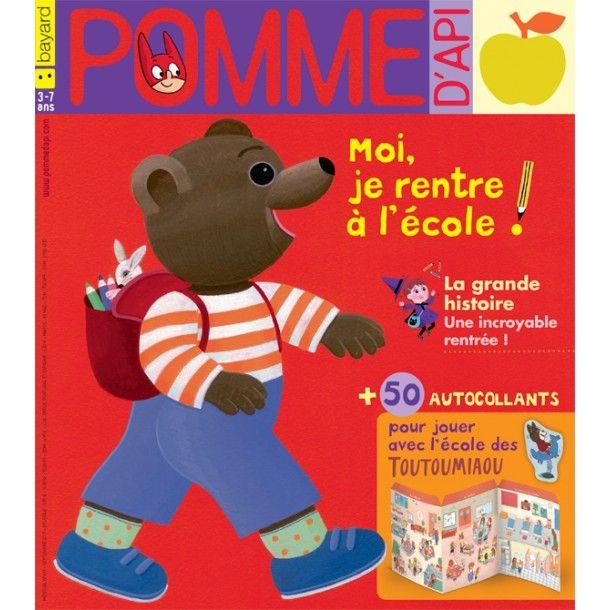 Magazine Pomme d'Api - Septembre 17