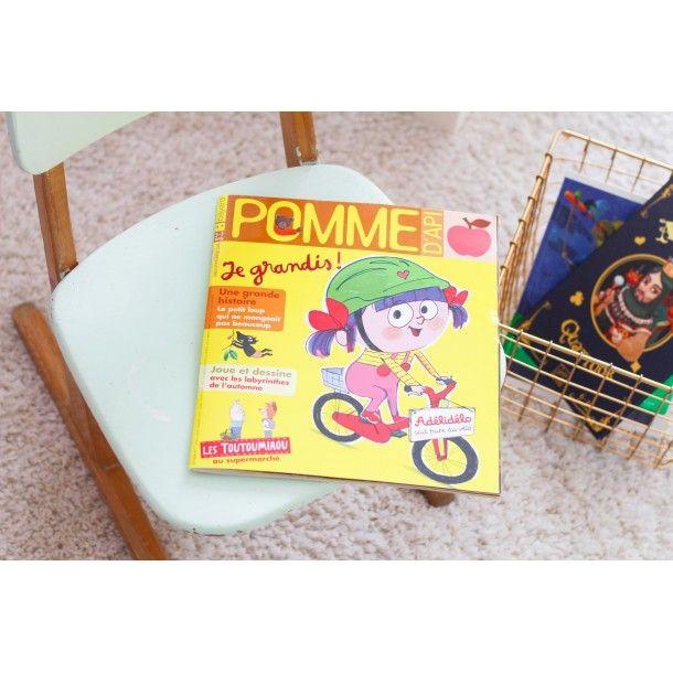 Magazine Pomme d'Api - Octobre 2017