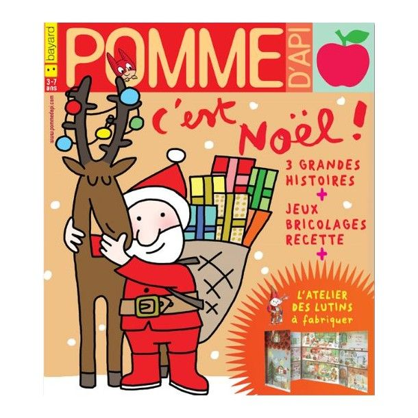 Magazine Pomme d'Api - Décembre