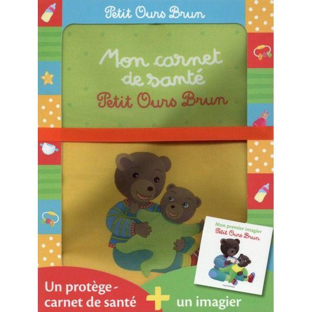 Protège carnet de santé Petit Ours Brun