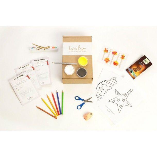 Décembre 12 - Box créative pour les kids de 3 à 9 ans