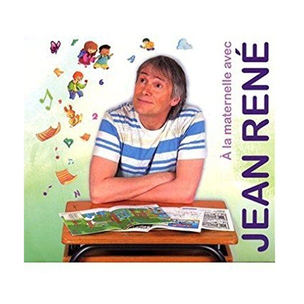 A la maternelle, livre-disque de Jean René
