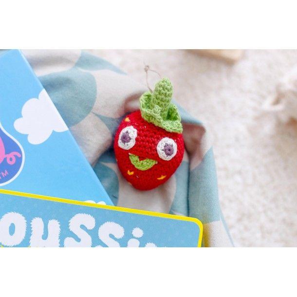 Hochet Blaise la mini-fraise