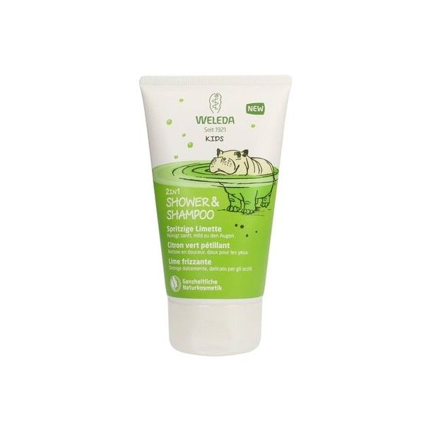 2en1 Shower&Shampoo Citron vert pétillant