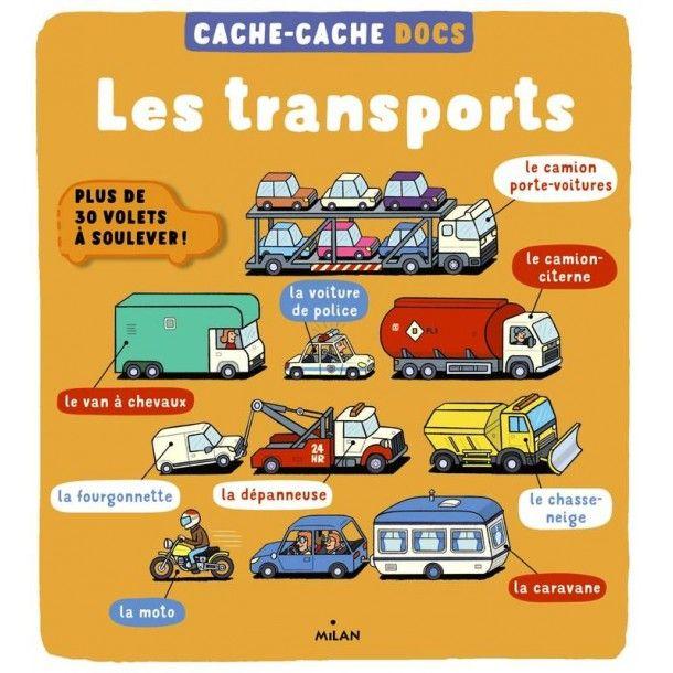 Livre Les Transports Cache-Cache Docs