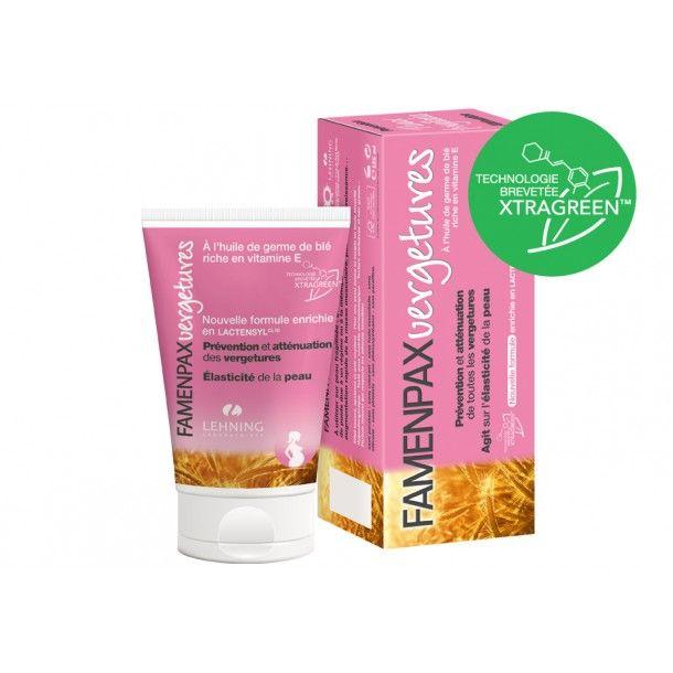Crème cosmétique FAMENPAXvergetures