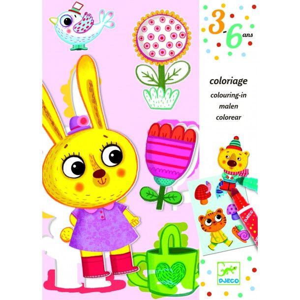 Coloriages pour les Petits - 4 Saisons