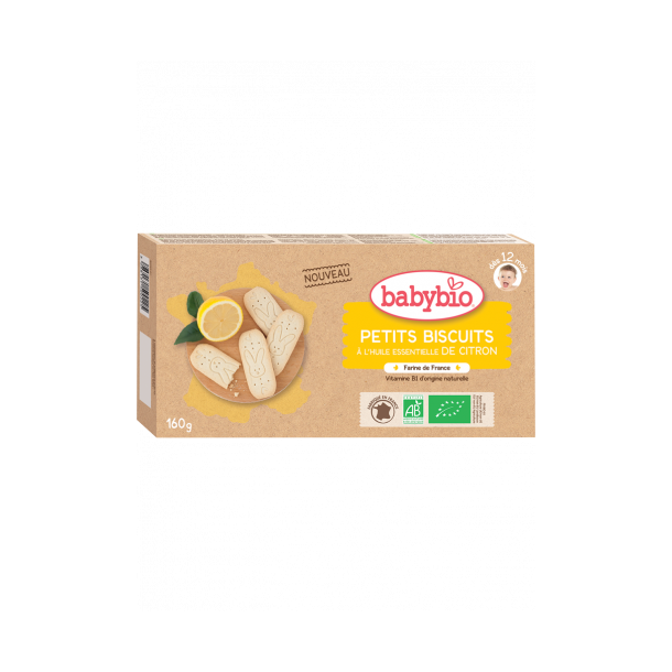 Biscuits noisettes ou citron