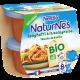NATURNES® BIO Spaghetti à la Bolognaise, touche de Basilic (2x190g)