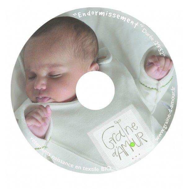 CD apaisant pour bébé