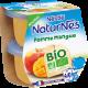 NATURNES® BIO Pomme Mangue (2x115g)