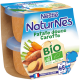 NATURNES® BIO Patate douce, Carotte (2x130g)