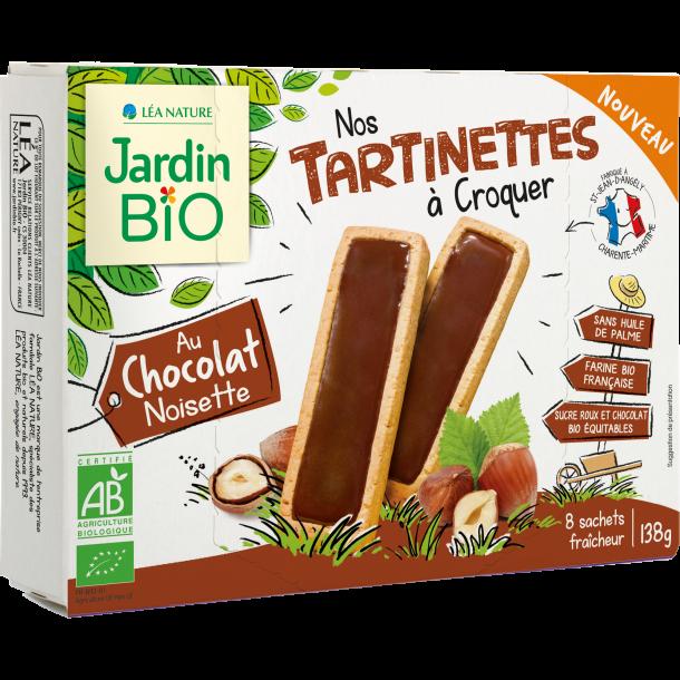 Tartinettes choco-noisette