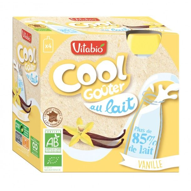 Gourde Cool Goûter - Vanille