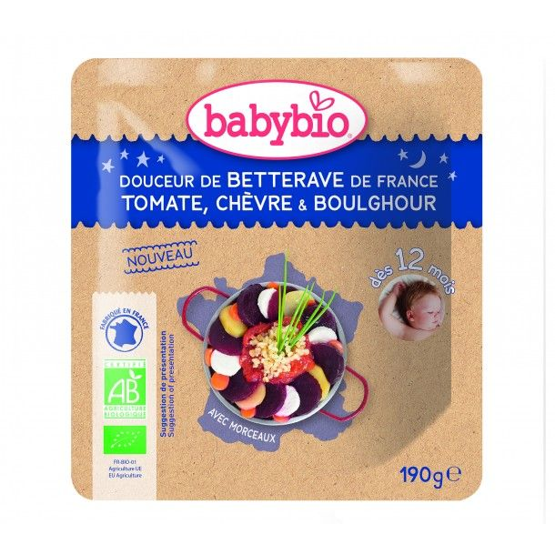 Sachet de betterave, tomate, chèvre & boulghour
