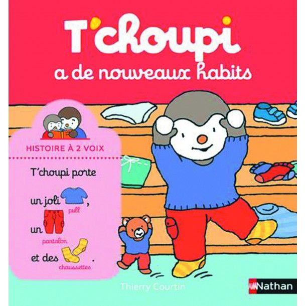 T'Choupi a de nouveaux habits