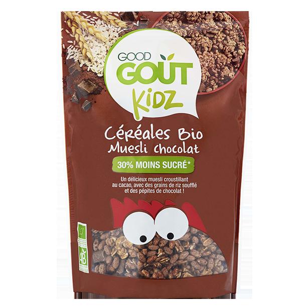 Céréales muesli chocolat