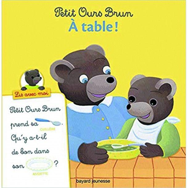 Petit Ours Brun, Lis avec moi - À table !