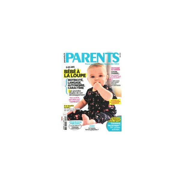 Le magazine Parents du mois !