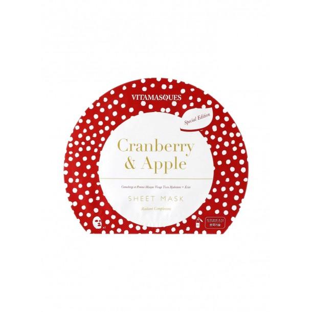 Masque en tissu Cranberry & Apple